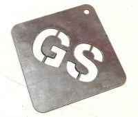 Galvanised Steel - 1mm (Plasma Cutting)