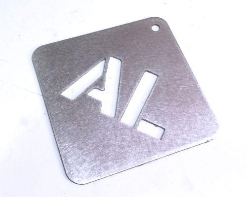 Aluminium - 2mm (Plasma Cutting)