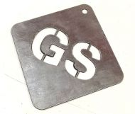 Galvanised Steel - 1mm (Plasma Cutting)